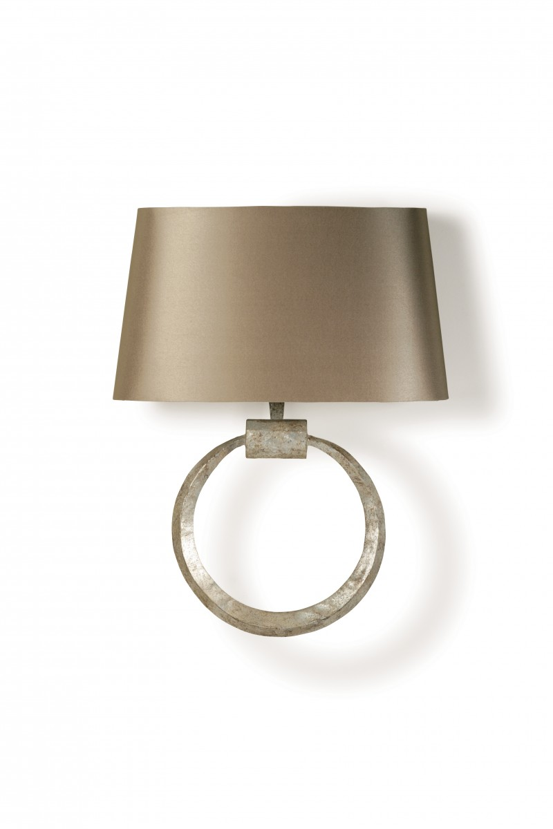 Ring Bathroom Wall Light BTWL Bathroom Lighting Bathroom - Bathroom wall sconce with shade