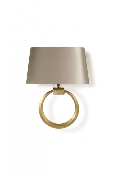 Ring Wall Light | French Brass