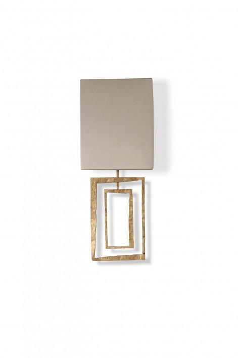 Salpertini Bathroom Wall Light | Decayed Gold