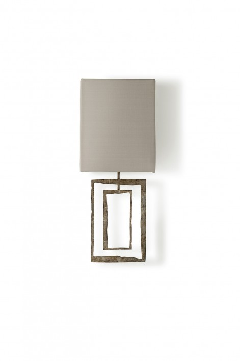 Salpertini Bathroom Wall Light | Decayed Silver