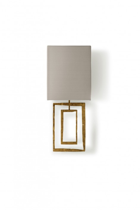 Salpertini Bathroom Wall Light | White Gold