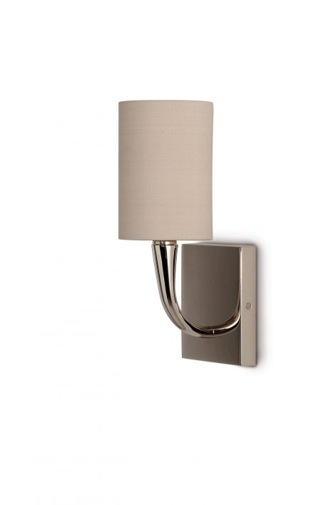 Trumpet Bathroom Wall Sconce | Nickel