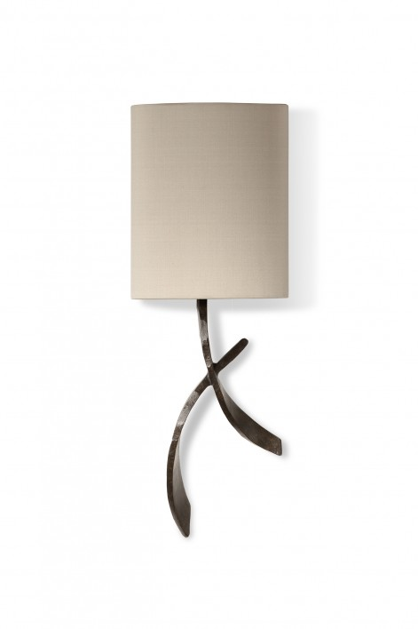 Sabre Bathroom Wall Light | Bronzed