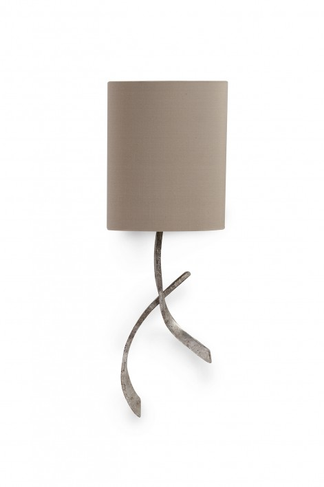 Sabre Bathroom Wall Light | Decayed Silver