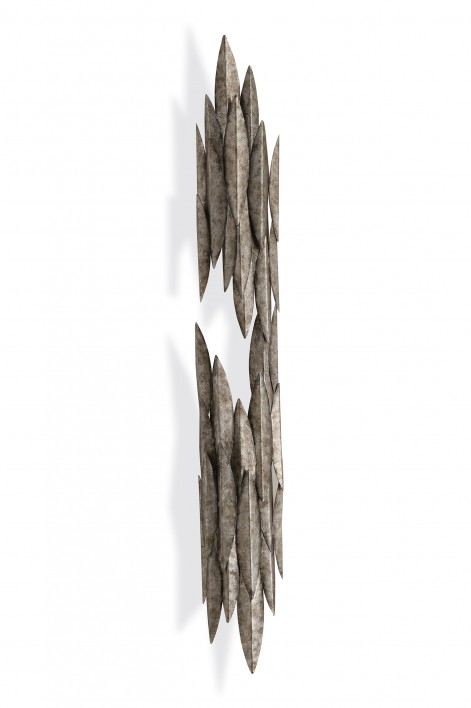 Large Leaf Wall Light | Cosmic Silver