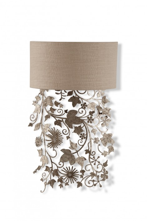 Ivy Shadow Wall Light | Forest Silver