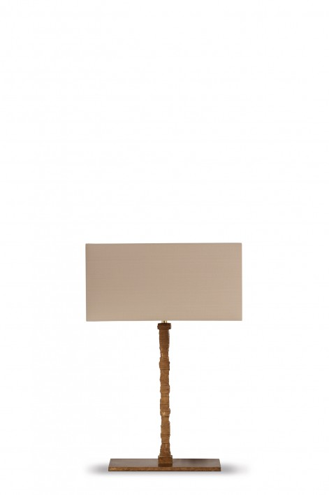 Small Static Lamp | French Brass