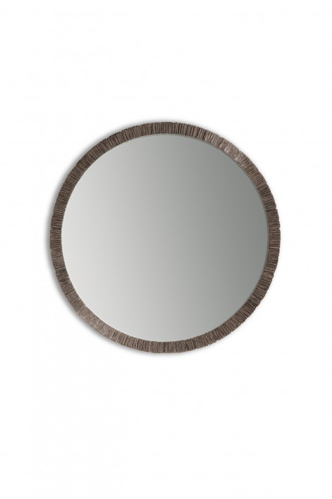 Trevose Mirror | Burnt Silver