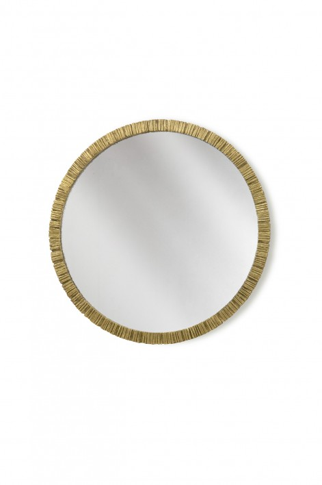 Trevose Mirror | French Brass