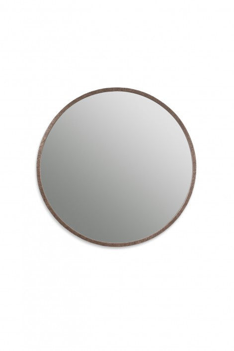 Runes Mirror | Burnt Silver