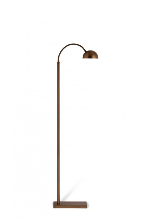 Arc Floor Lamp | Aged Gold