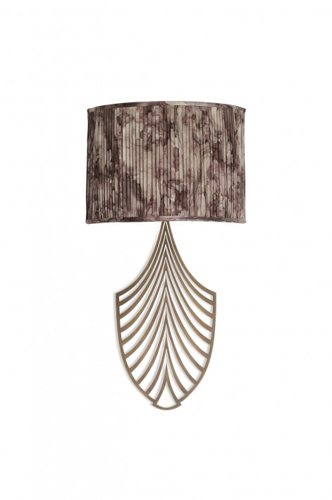 Plume Wall Sconce | Antiqued Brass
