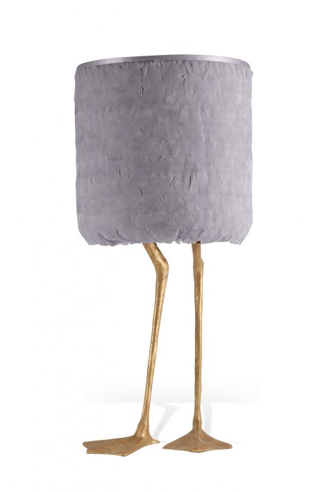 Duck Feet Lamp | Decayed Gold