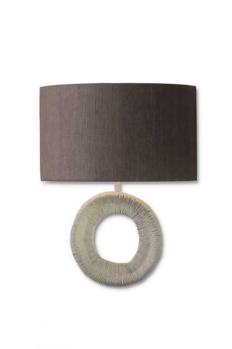 Asante Wall Light | Plaster White