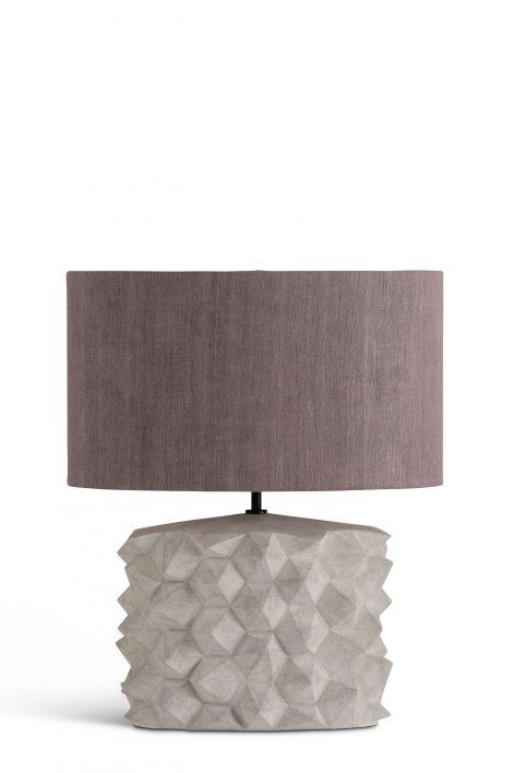 Hardy Lamp | Dappled White