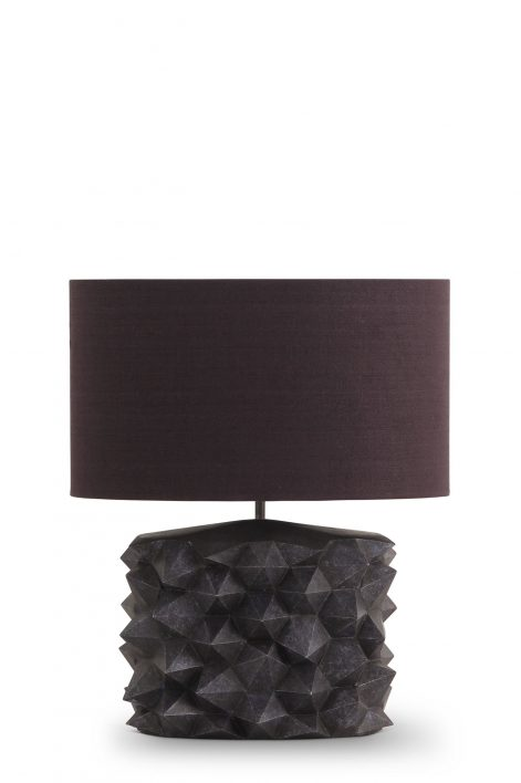 Hardy Lamp | Dappled Blue