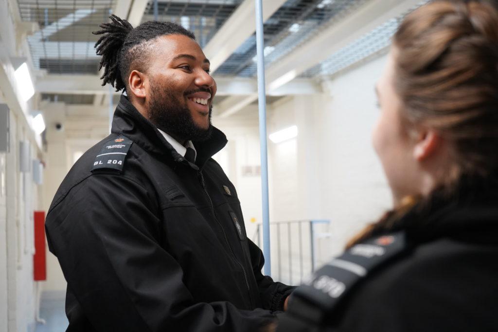 Prison officer rewards