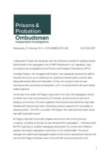 Osvaldas Pagirys press release