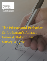 Prisons and Probation Ombudsman, stakeholder survey