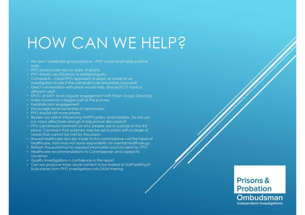 PPO, Impact symposium