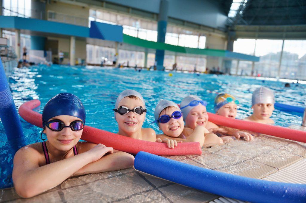 school holidays swimming