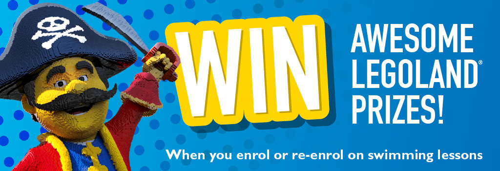 Win awesome experiences at legoland