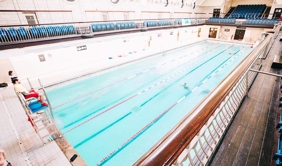 Porchester Centre Swimming Pool