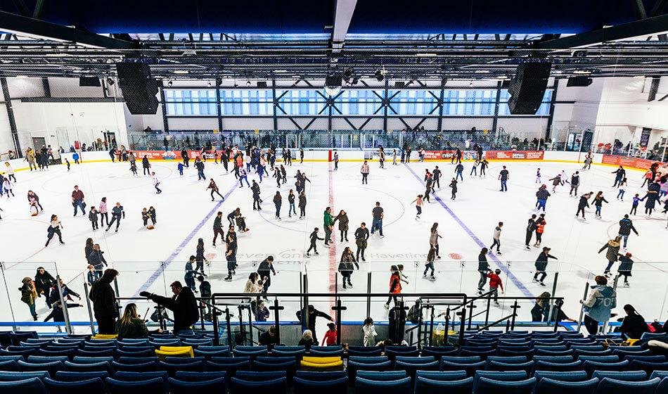 school holidays Sapphire Ice Rink