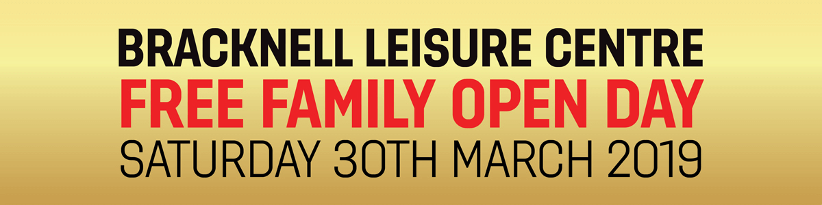Bracknell Open day Saturday 30th March