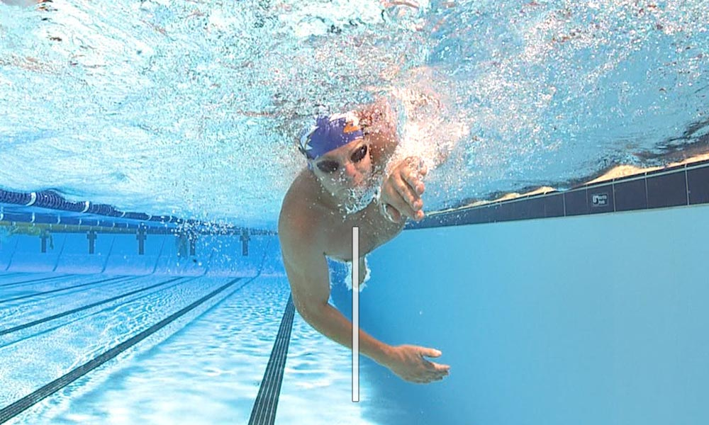 Image result for front crawl cross over