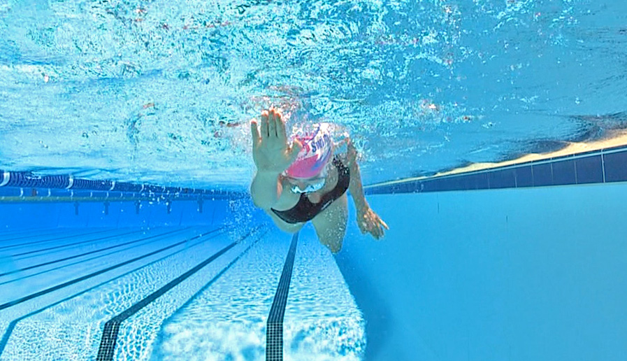Front crawl swimming tips
