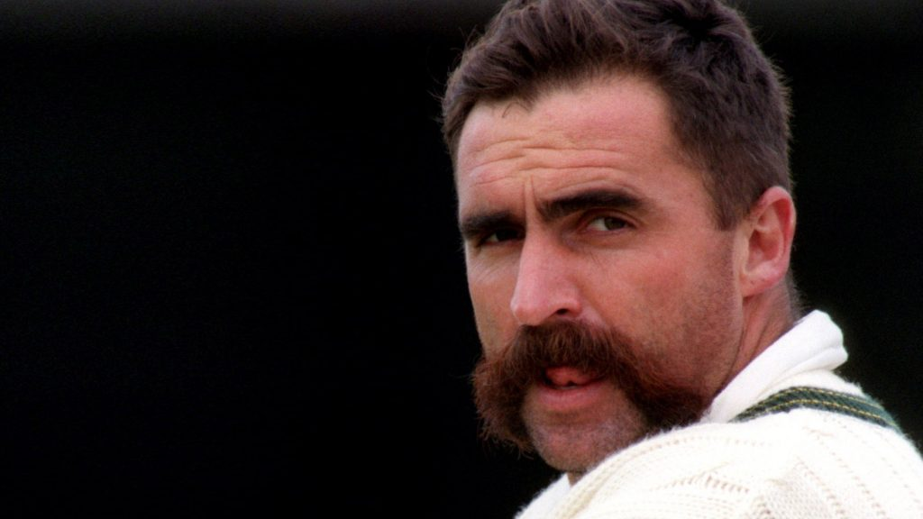 Merv Hughes - top 10 sporting Moustaches