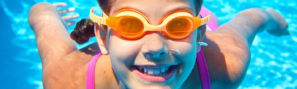 Swimming Birthday Party