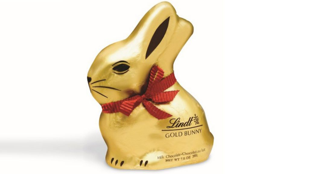 easter eggs lindt bunny