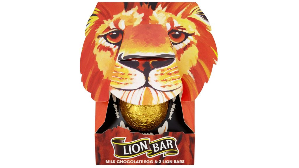 lion bar easter eggs