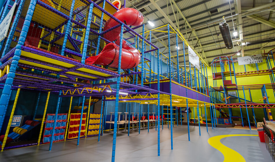 Play World Soft Play Facilities and slide