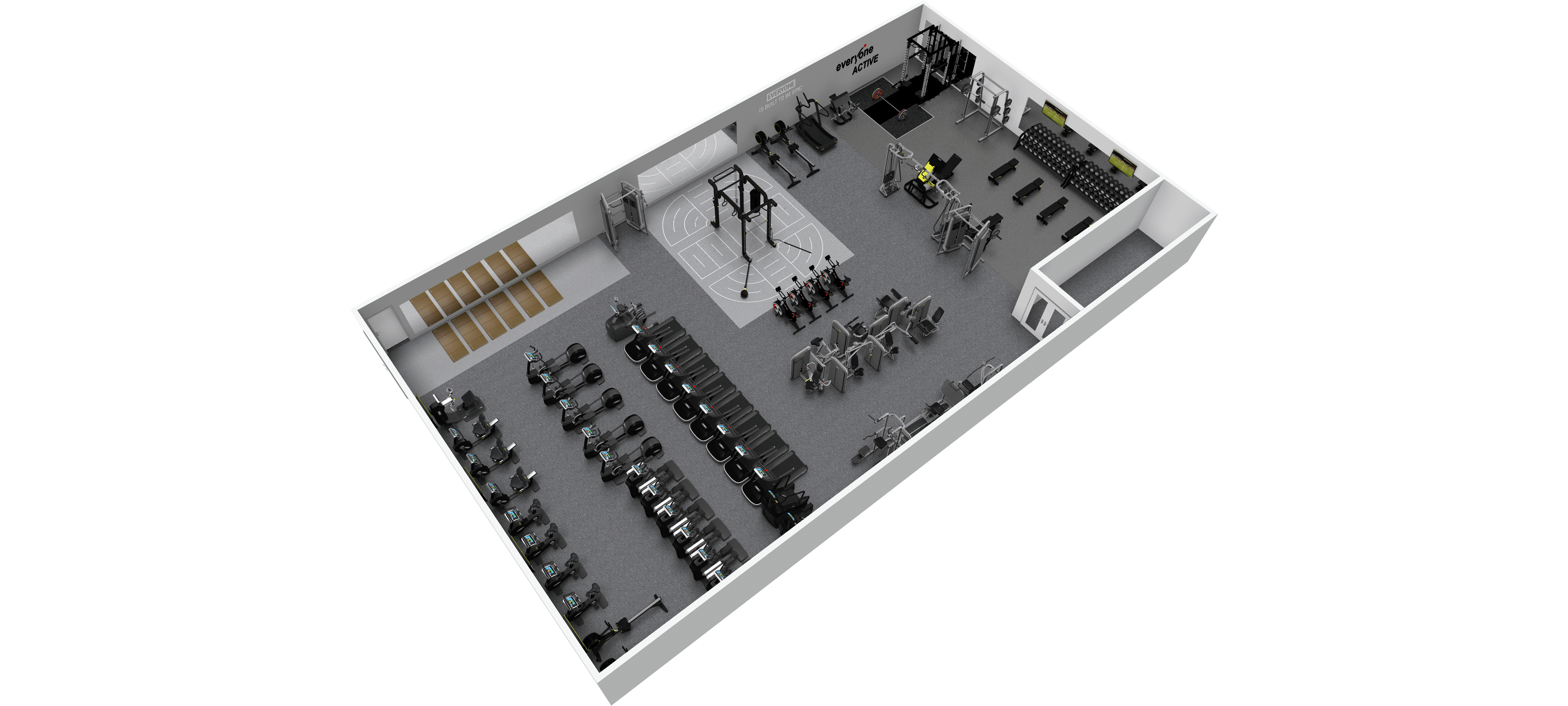 Hood Park New Gym