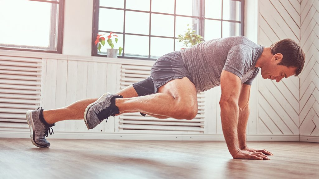 spiderman press-up home abs workout