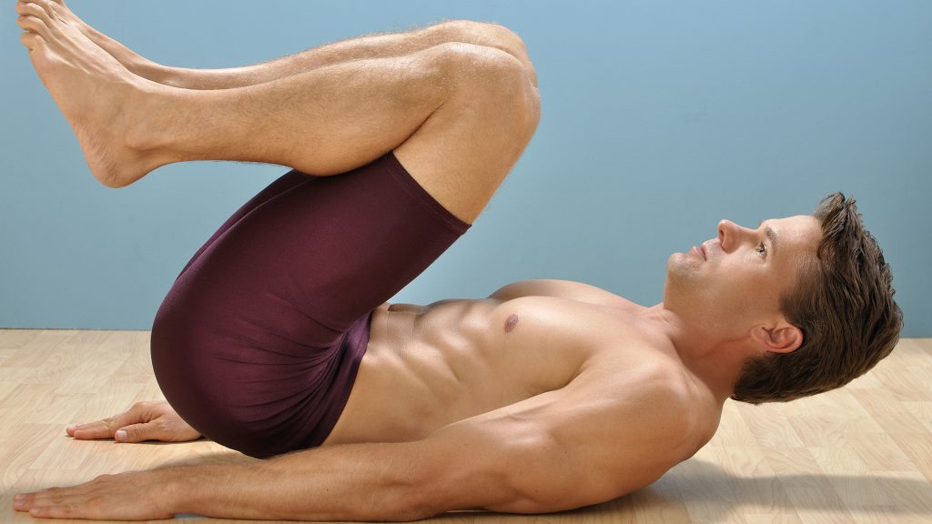 reverse crunch home abs workout