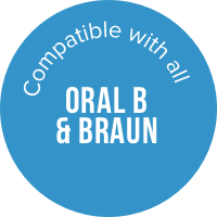 Compatible with Braun & Oral B