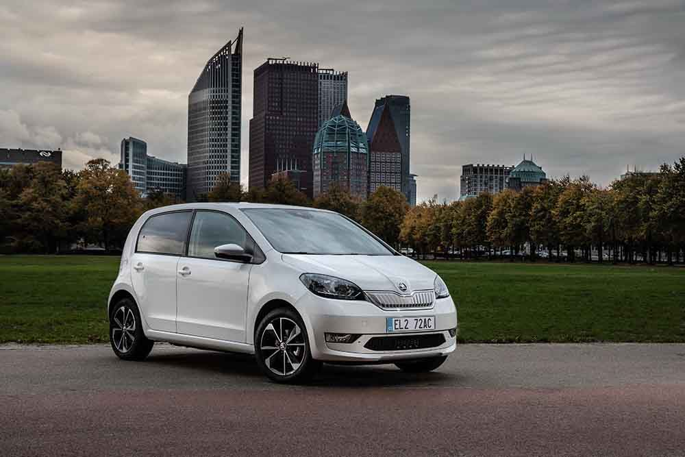 The new SKODA CITIGOe iV