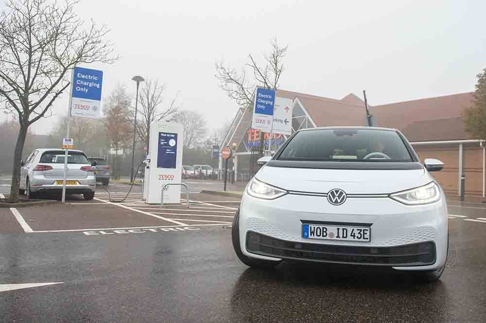 Volkswagen ID.3 driving after charge