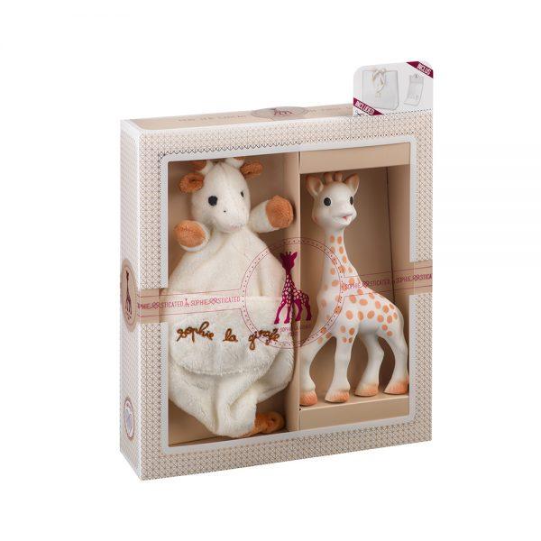 baby comforter sophie la girafe