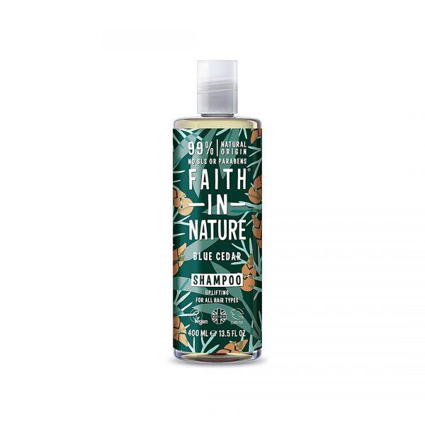 Blue Cedar shampoo - Faith in Nature