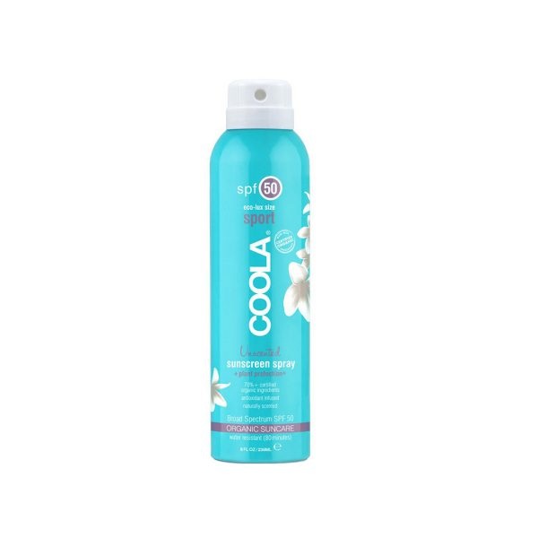 Coola 50 unscented sunscreen