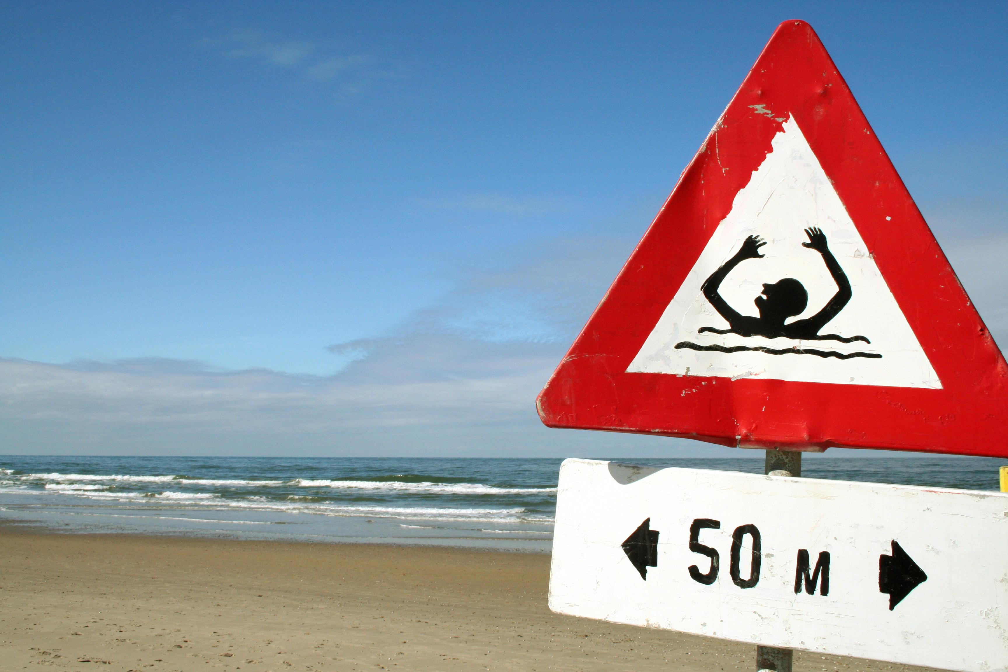 открывается картинки предупреждающие знаки о воде акул