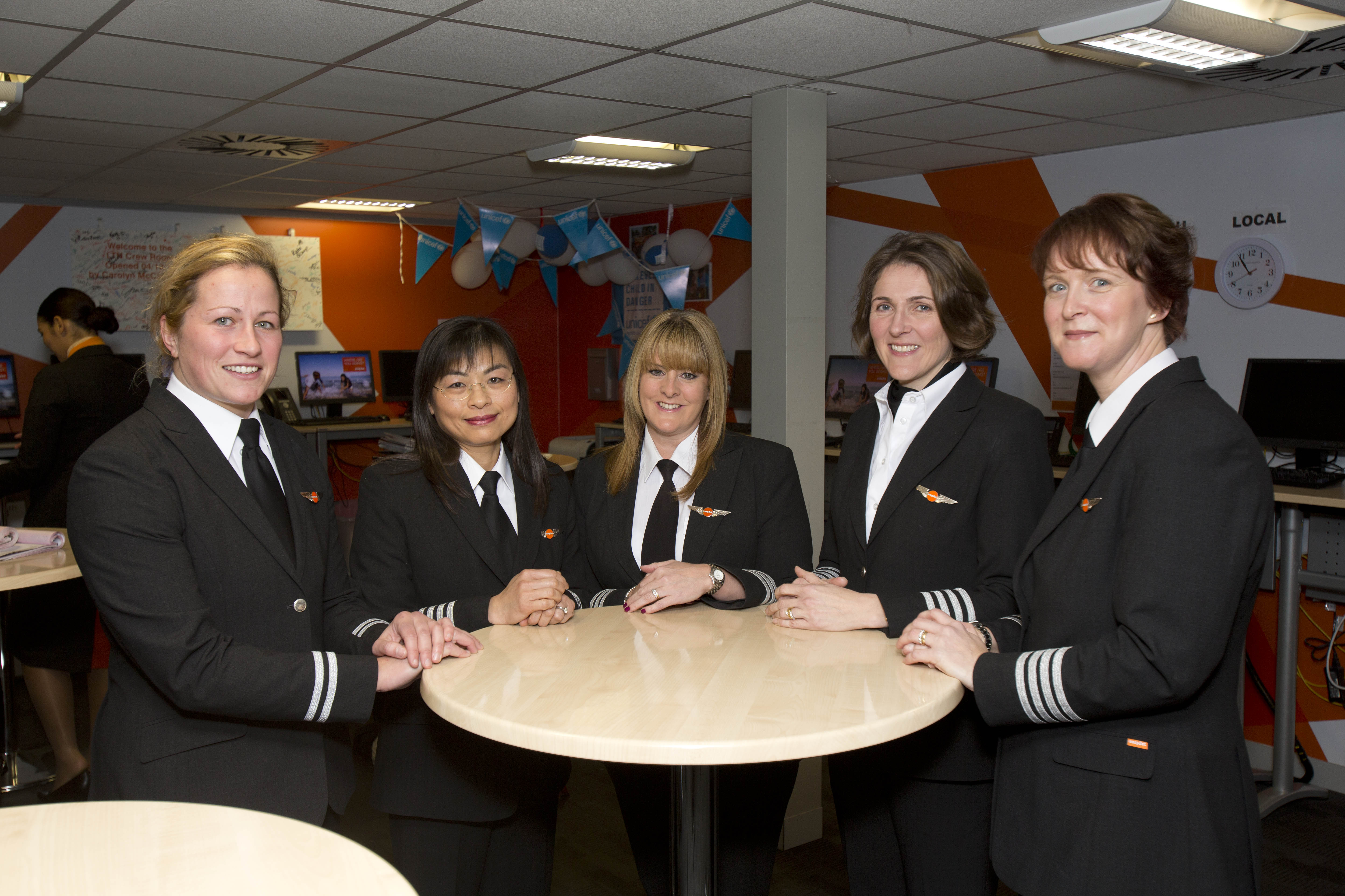 easyJet launches government-backed flying initiative to double intake of female pilots