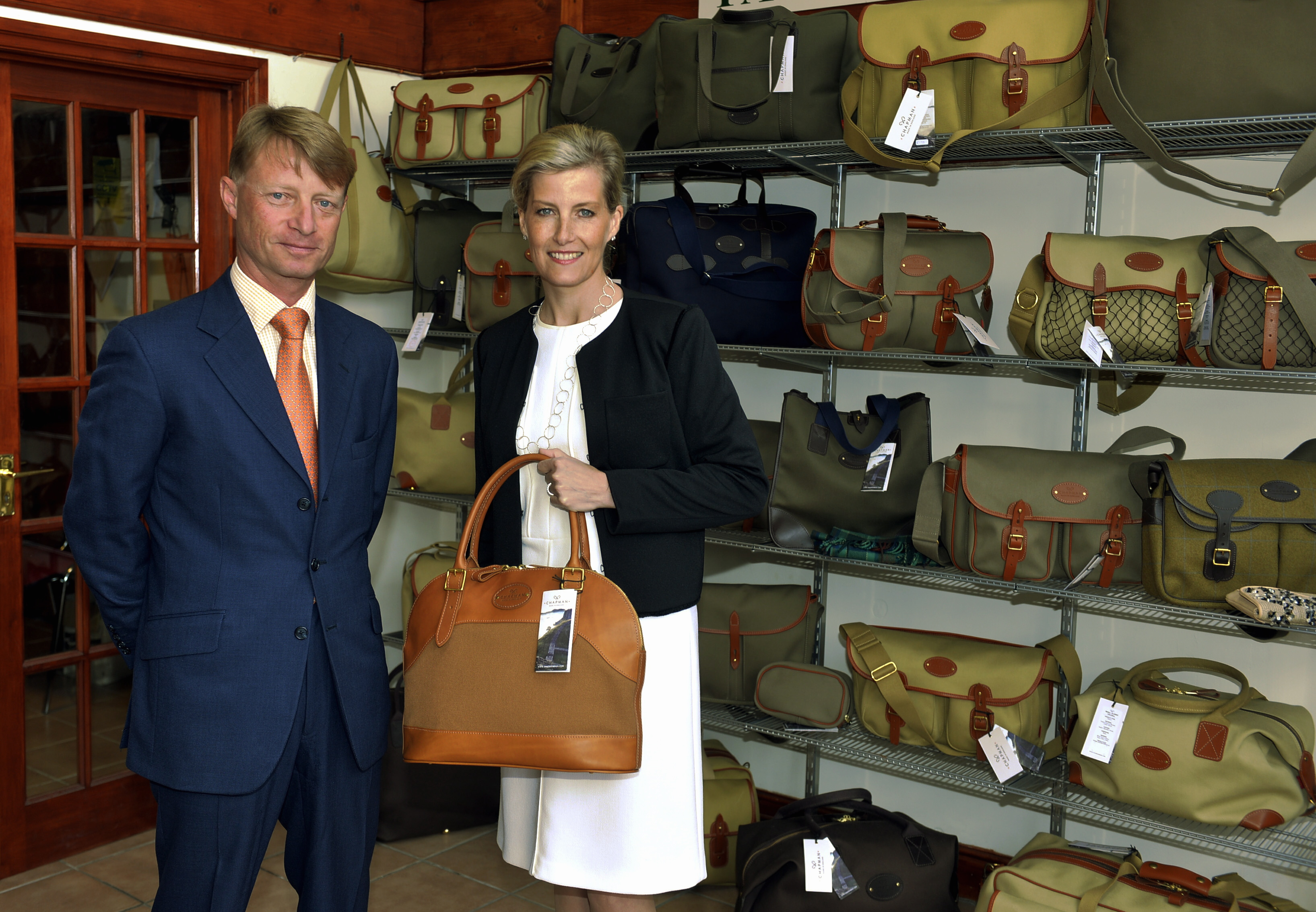 Chapman Bags: The successful British exporter favoured by The Countess of Wessex