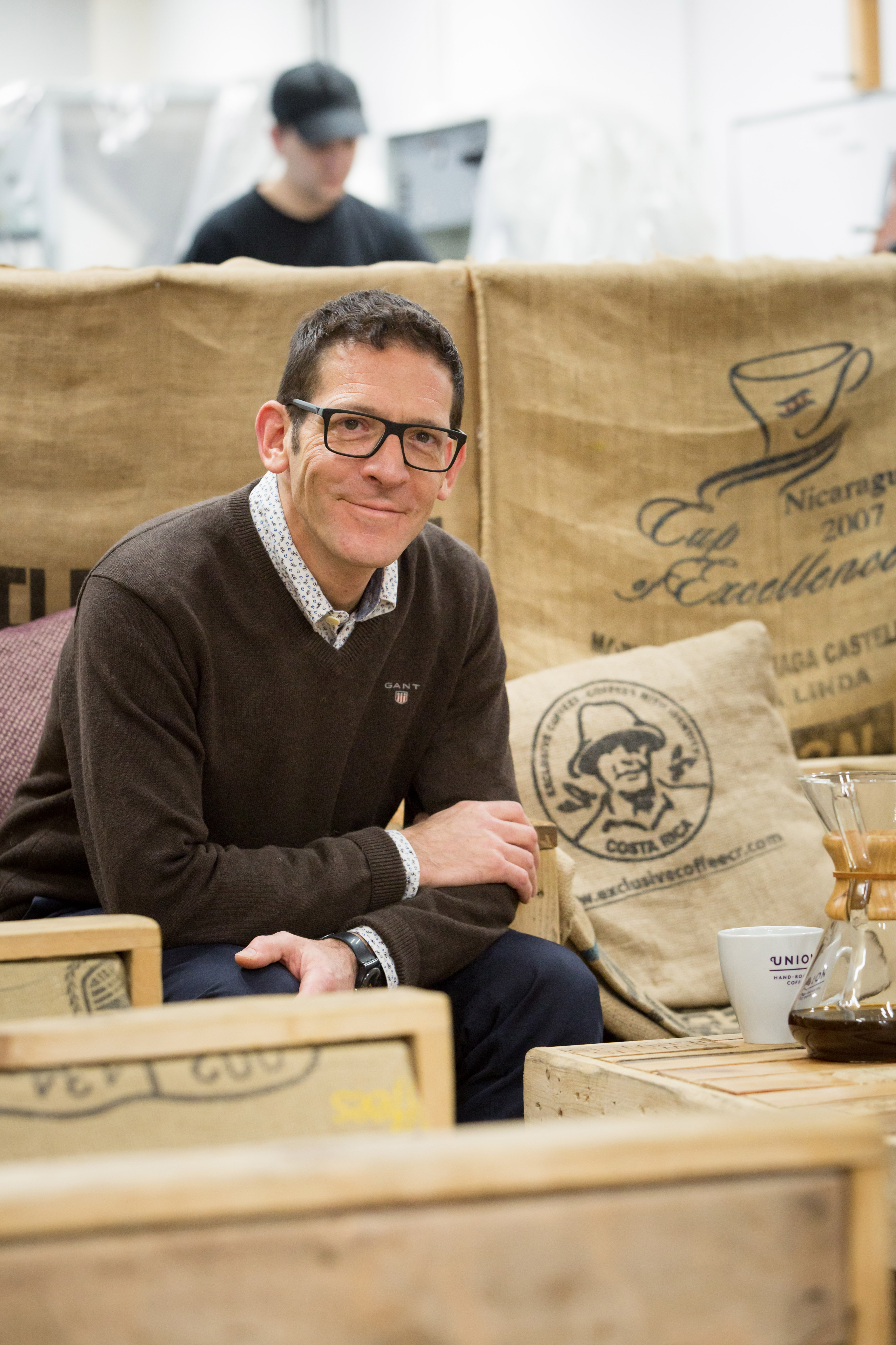 Union Hand-Roasted Coffee founder shows how to grow with integrity, and roast to perfection