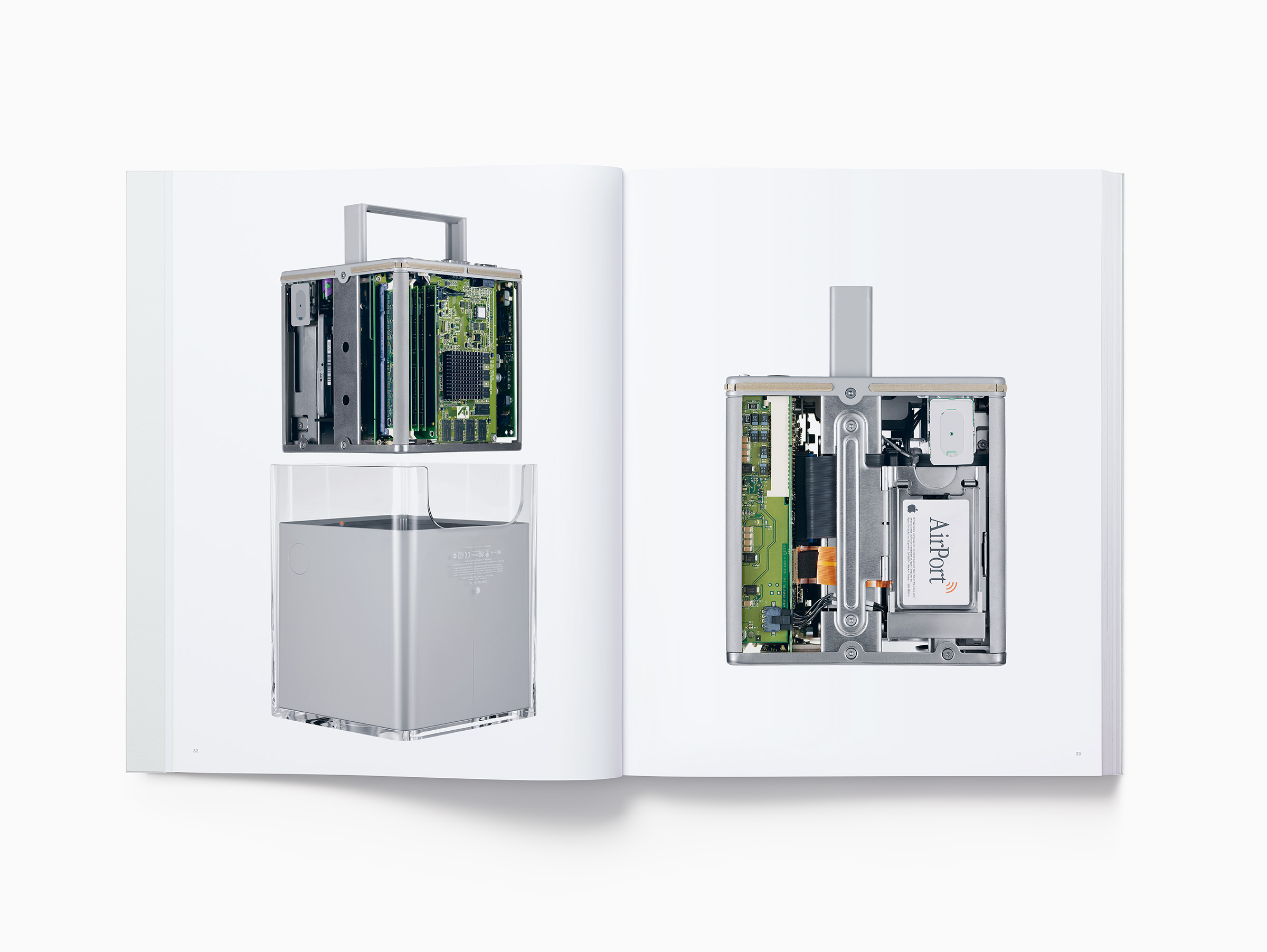 Apple photo book Designed by Apple in California